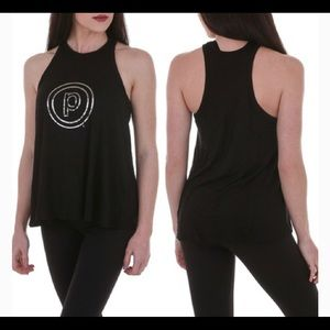 Pure Barre size small high neck swing tank
